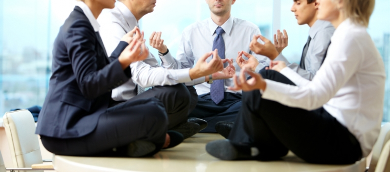 Yoga in the Corporate World